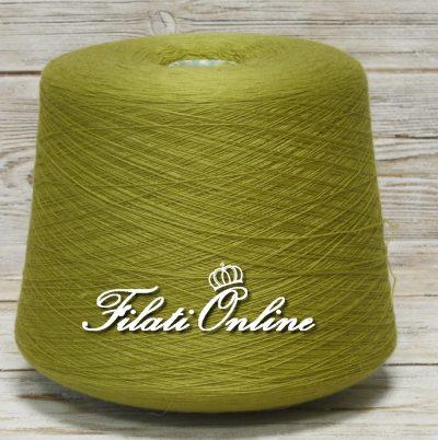 WVM80vf Filato di puro merino extrafine Lana Gatto Harmony woolmar colore verde felce