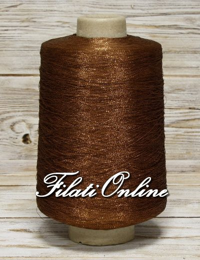 VIL50MR Viscosa marrone con lurex rame 1035gr 46,58€ disponibili altre rocche