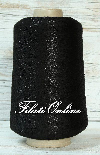 VIL50NN Viscosa nero con lurex nero 890gr 40,05€ disponibili altre rocche
