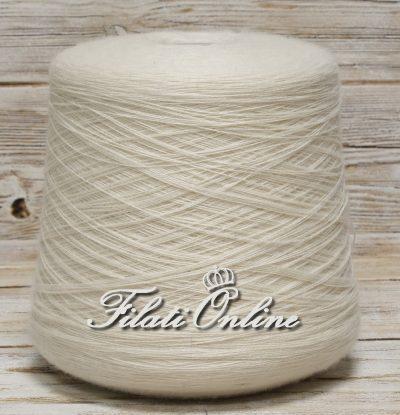 WVM111b filato in puro merino Igea Aquila color bianco