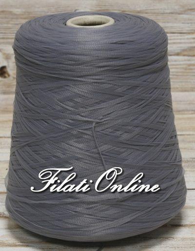 F203g filato fettuccia semitrasparente grigio