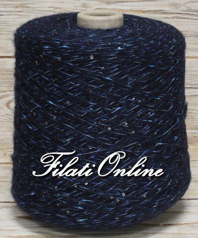 WO301 filato misto lana con paillettes