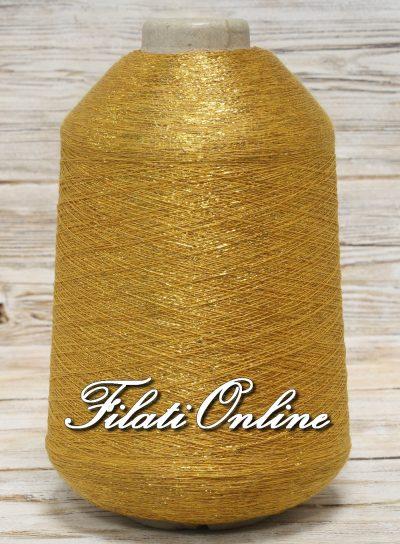 VIL55o Filato in viscosa con lurex oro