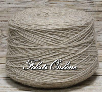 WO501bc Filato stoppino misto alpaca beige chiaro