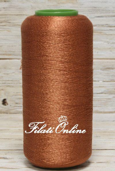 SE100RA Filato in seta e viscosa color rame 190gr 5,61€ - 545gr 16,08€ - 555gr 16,37€ - 575gr 16,96€ Disponibili altre rocche